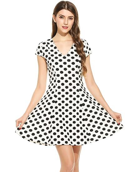 Vintage Polka Dot Dress