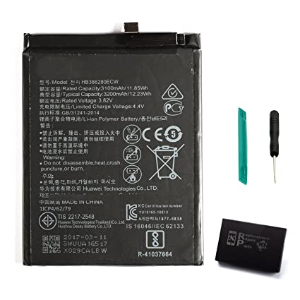 Amazon.com: KR-NET batería interna de repuesto para Huawei ...