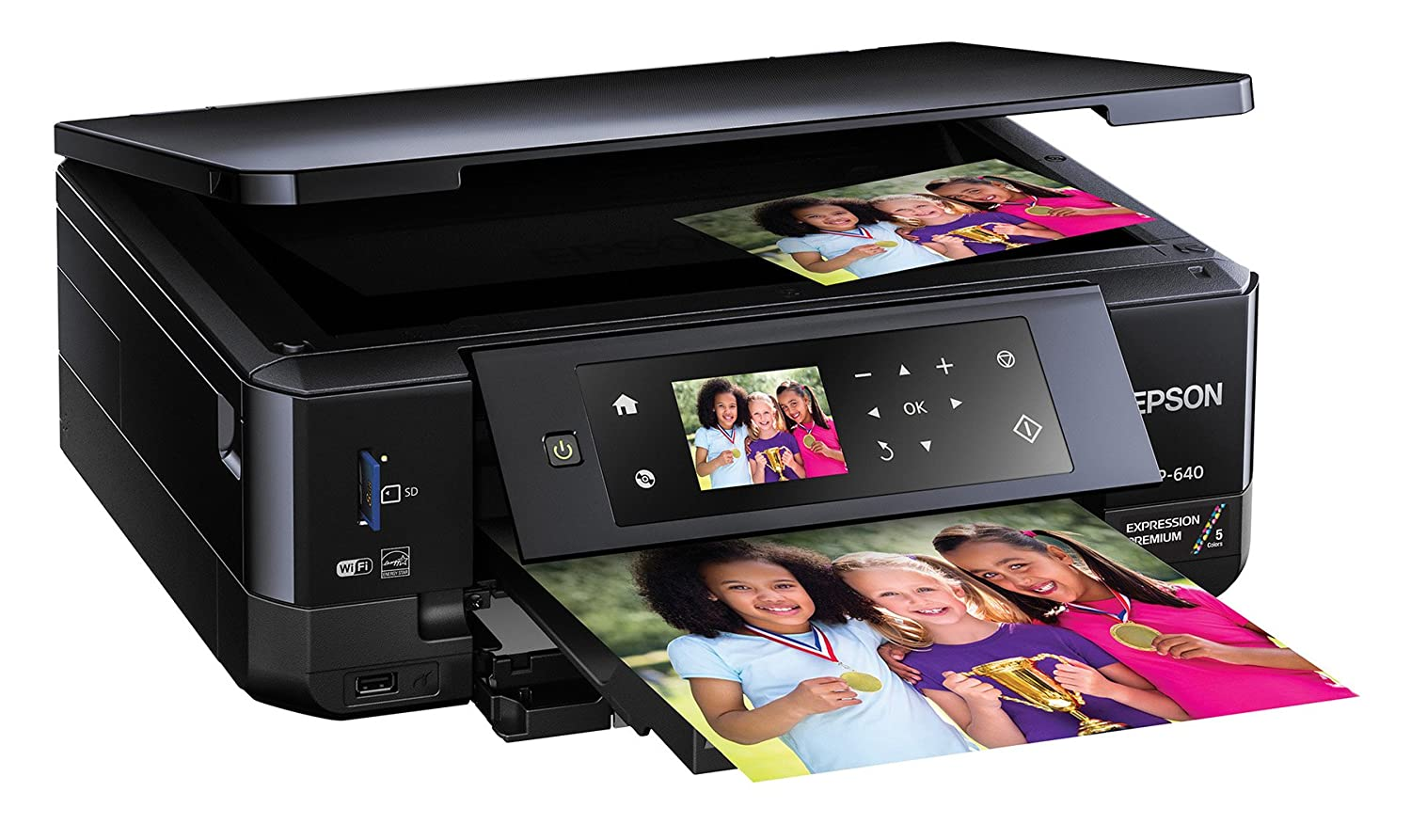 Best color printing quality - Epson Xp 640 Expression Premium Wireless Color Photo Printer
