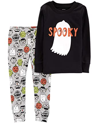 001ef7b21 Amazon.com  Carter s Baby Boys  Skeleton Halloween PJs  Clothing