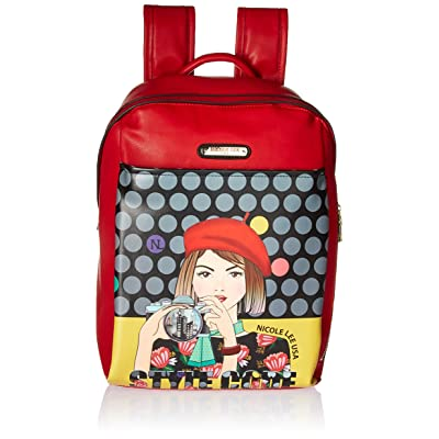 Nicole Lee Women's Multi-Functional Smart Lunch Insulated Compartment Backpack