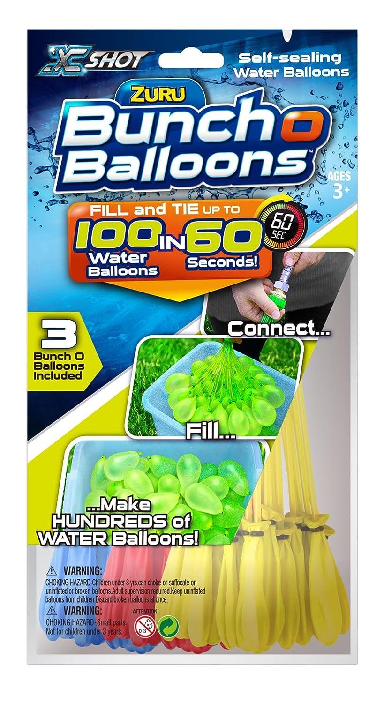 amazon com zuru bunch o balloons instant water balloons color