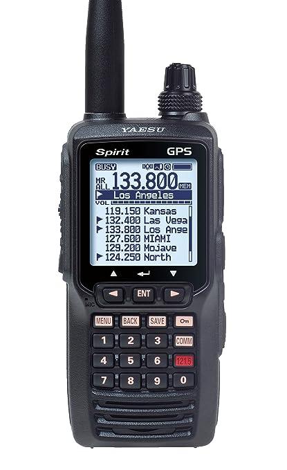 af8f43d2043 Amazon.com  Yaesu FTA750L Handheld VHF Transceiver   GPS  GPS   Navigation