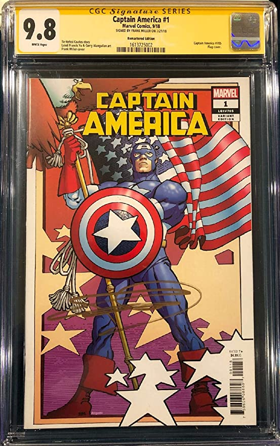 SOLD OUT FIRST PRINT CGC 9.8 ALL NEW ALL DIFFERENT AVENGERS #1