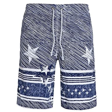 Mens Summer Beach Hawaiian Swim Pool Surf Floral Boxer Shorts Trunks Night wear