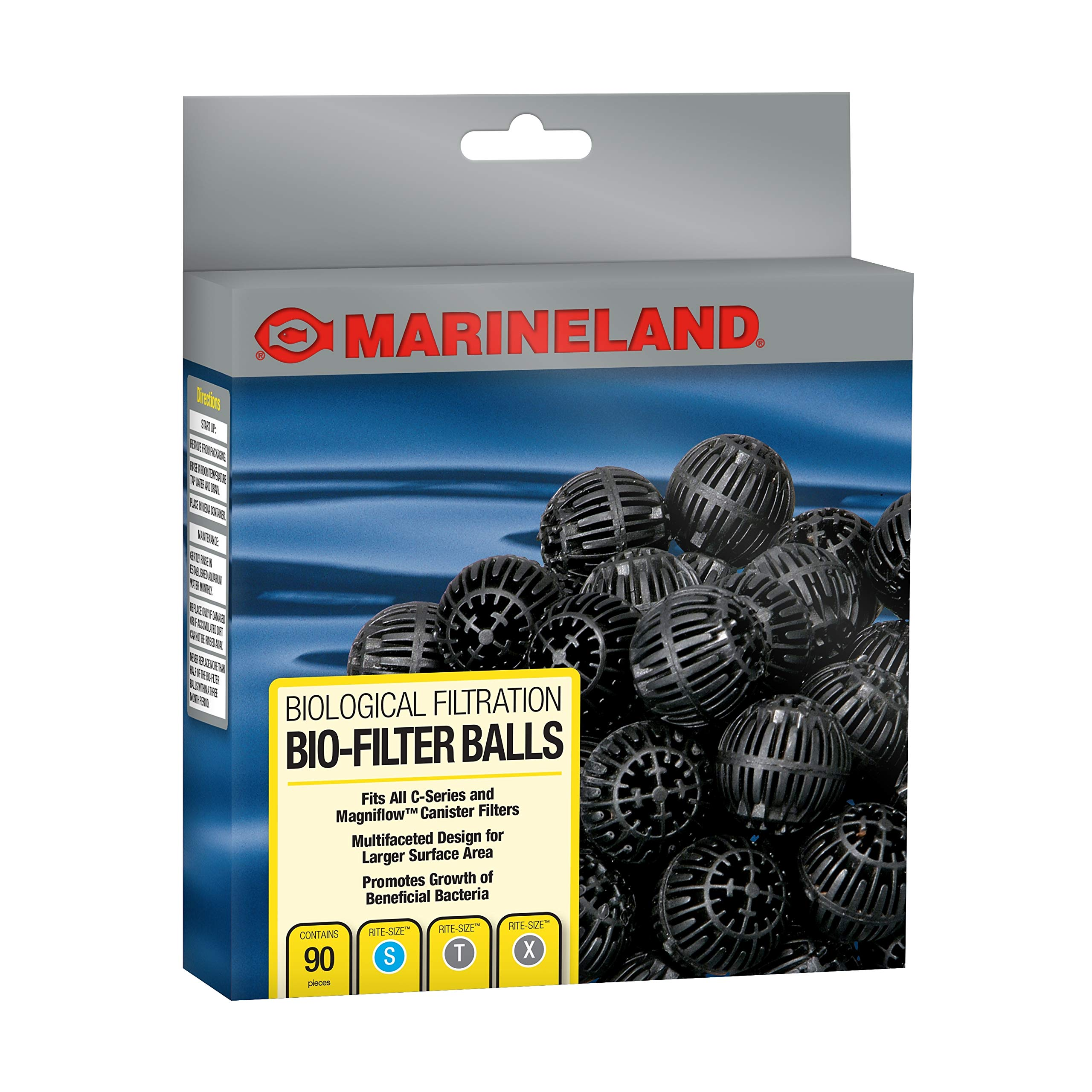 Marineland Bio-Filter Balls, Supports Biological aquarium Filtration, Fits All C-Series Canister Filters