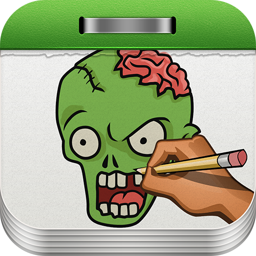 Scary Halloween Tutorials (How to Draw Zombies)