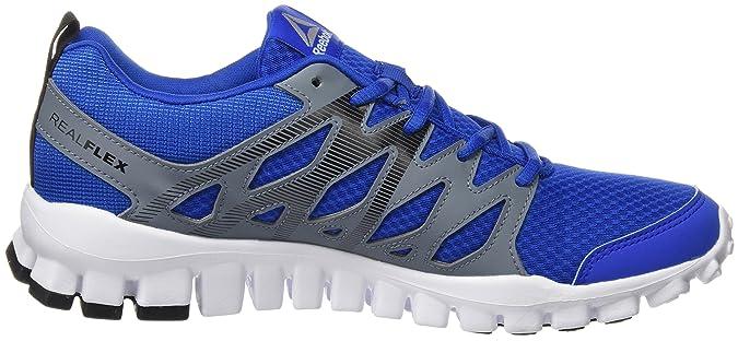 Reebok Realflex Train 4.0, Sneakers Bimbo, Blu (Awesome blu/Asteroid Dust/Black/White), 38.5