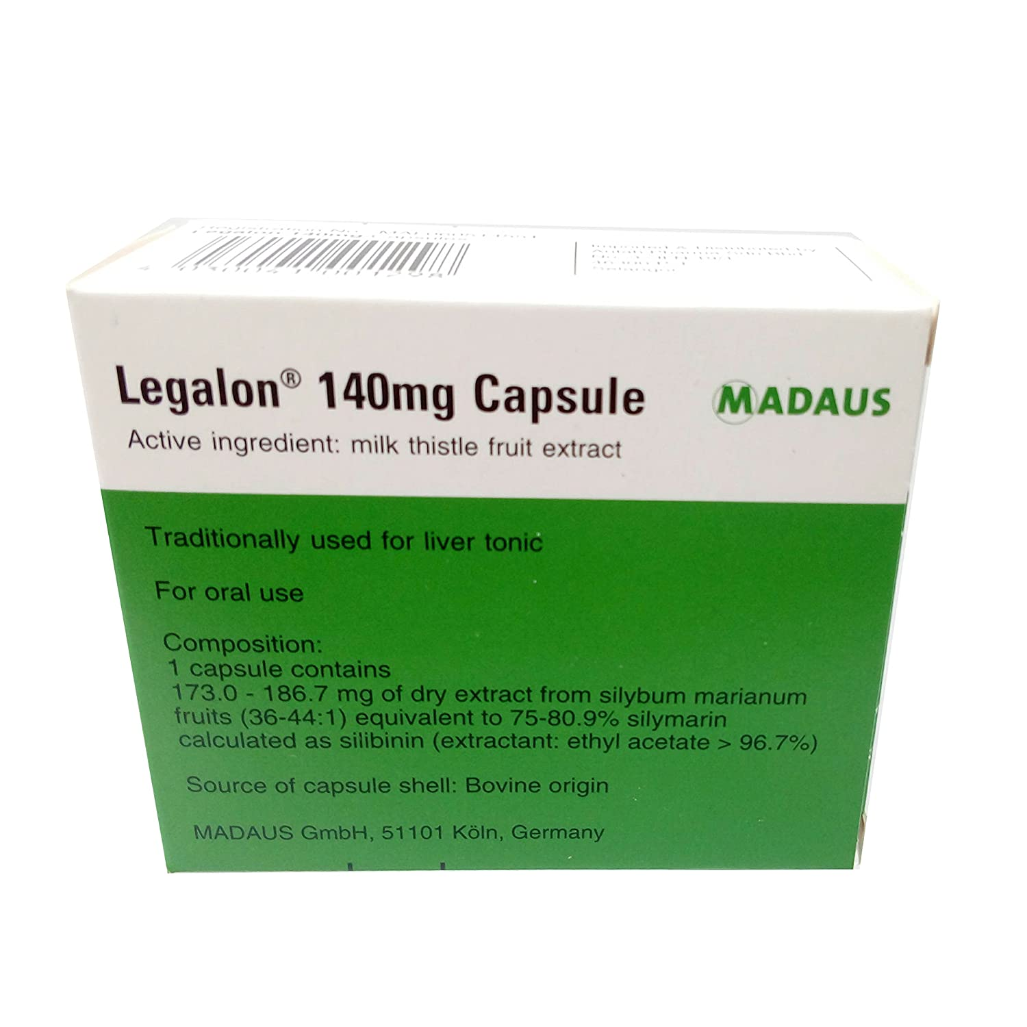 Amazon.com: LEGALON 140 mg Hígado Apoyo, Cleanse & detox ...