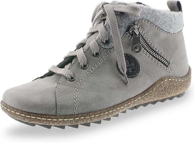  Rieker Womens Stiefel E 12 grau (9