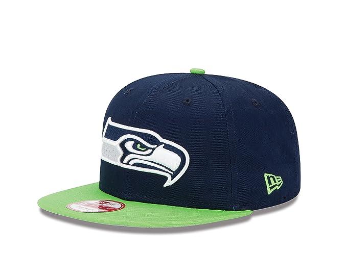 Amazon.com   NFL Seattle Seahawks Baycik 9Fifty Snapback Hat   Sports Fan  Baseball Caps   Clothing 6865b5406