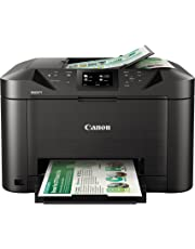 Canon MAXIFY MB5120 Wireless Color Printer with Scanner, Copier & Fax, Black
