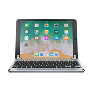 Brydge 10.5 Keyboard for iPad Air (2019) and iPad Pro 10.5 inch, Aluminum Bluetooth Keyboard with Backlit Keys (Space Gray) (Color: Space Gray)