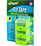RESCUE! FT3 Non-Toxic Fly Tape, 3 Pack