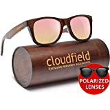 c37e3efad1 Wood Sunglasses Polarized for Men and Women - Bamboo Wooden Wayfarer Style