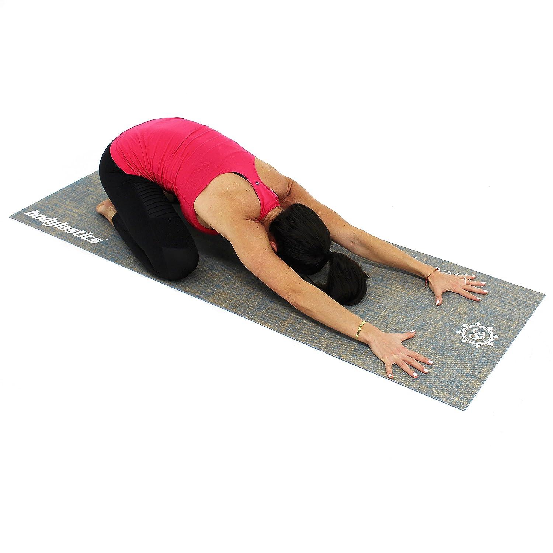 Bodylastics - Premium Calidad Antideslizante Yoga Mat ...