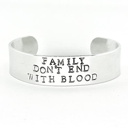 Amazoncom Family Dont End With Blood Hand Stamped Supernatural