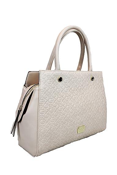 zum halben Preis berühmte Designermarke Verkauf Einzelhändler Guess Damen Tasche Handtasche Umhämgetasche creme: Amazon.de ...