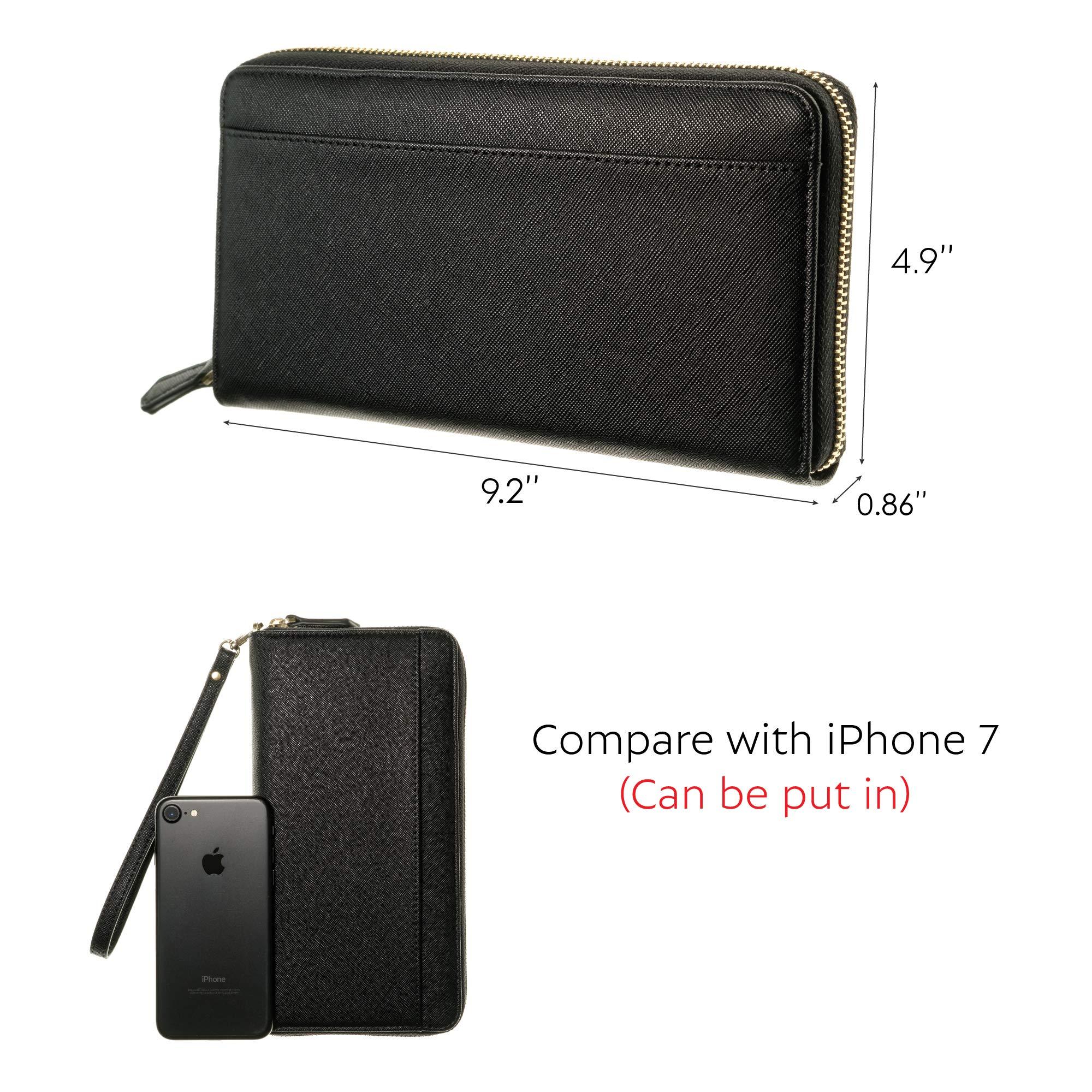 88ac103b4b1b Travel Document Organizer - RFID Passport Wallet Case Family Holder ...