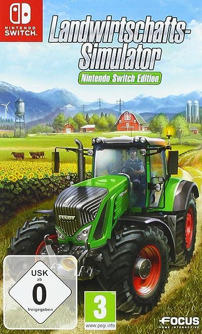 Landwirtschafts-Simulator - Nintendo Switch [Importación alemana]: Amazon.es: Videojuegos