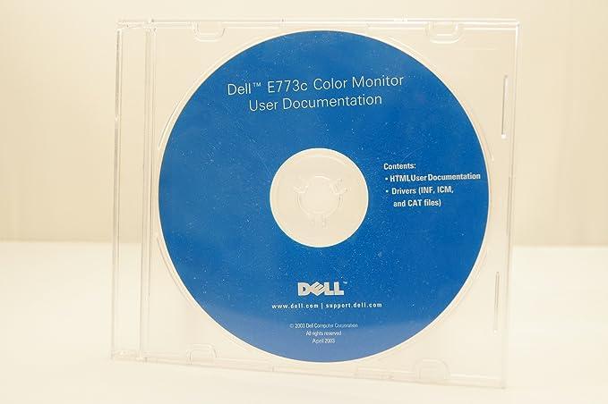 DRIVER: DELL E773C COLOR MONITOR