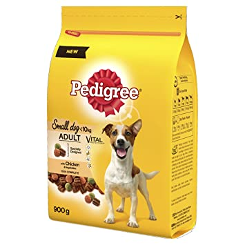 Pedigree Dog Food Adult Chicken And Vegetables 900 G Pack Of 5