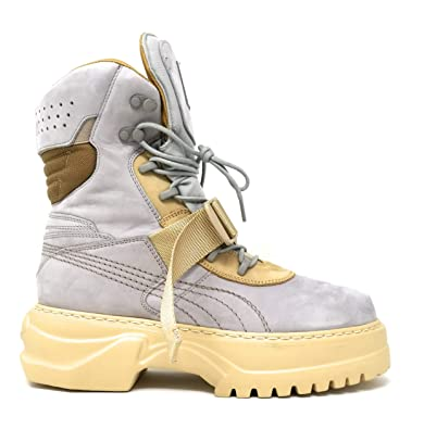 5b88fc07674782 Image Unavailable. Image not available for. Color  PUMA Fenty Women s x by  Rihanna Nuckbuck Leather Winter Boot ...