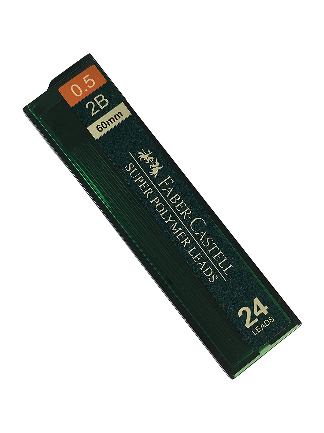 0.5 mm 2B Lead Refills Strong Dark Smooth Leads Mechanical Pencil Lead Refills 4 Tubes, 24 Leads Per Tube - Total 96 leads
