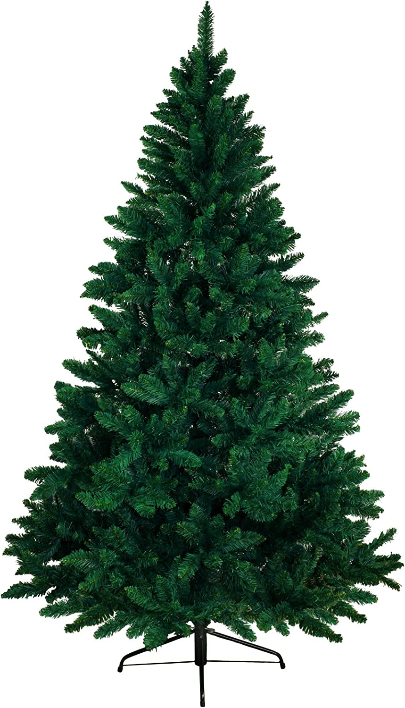 BB Sport Árbol Navideño PVC 150 cm Verde Oscuro Arbol Navidad Artificial Abeto Navidad