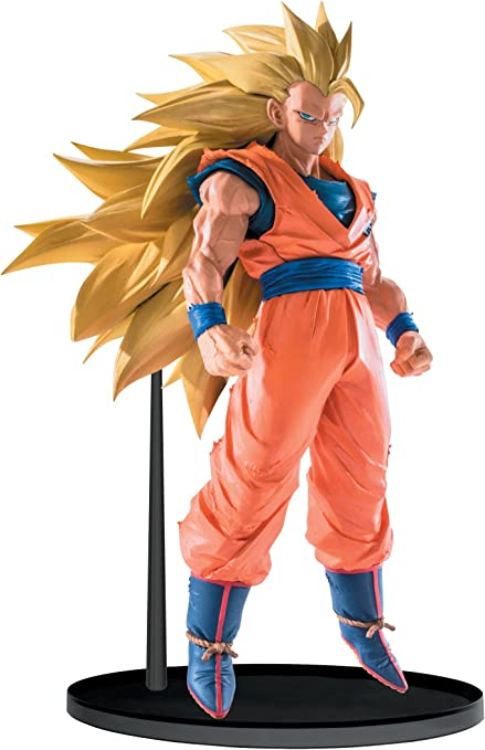 Anime Banpresto Dragon Ball Z Figure Scultures Super Saiyan Son Goku Tenkaichi