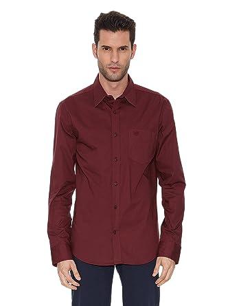 Bendorff Camisa Hombre Burdeos 2XL: Amazon.es: Ropa y accesorios