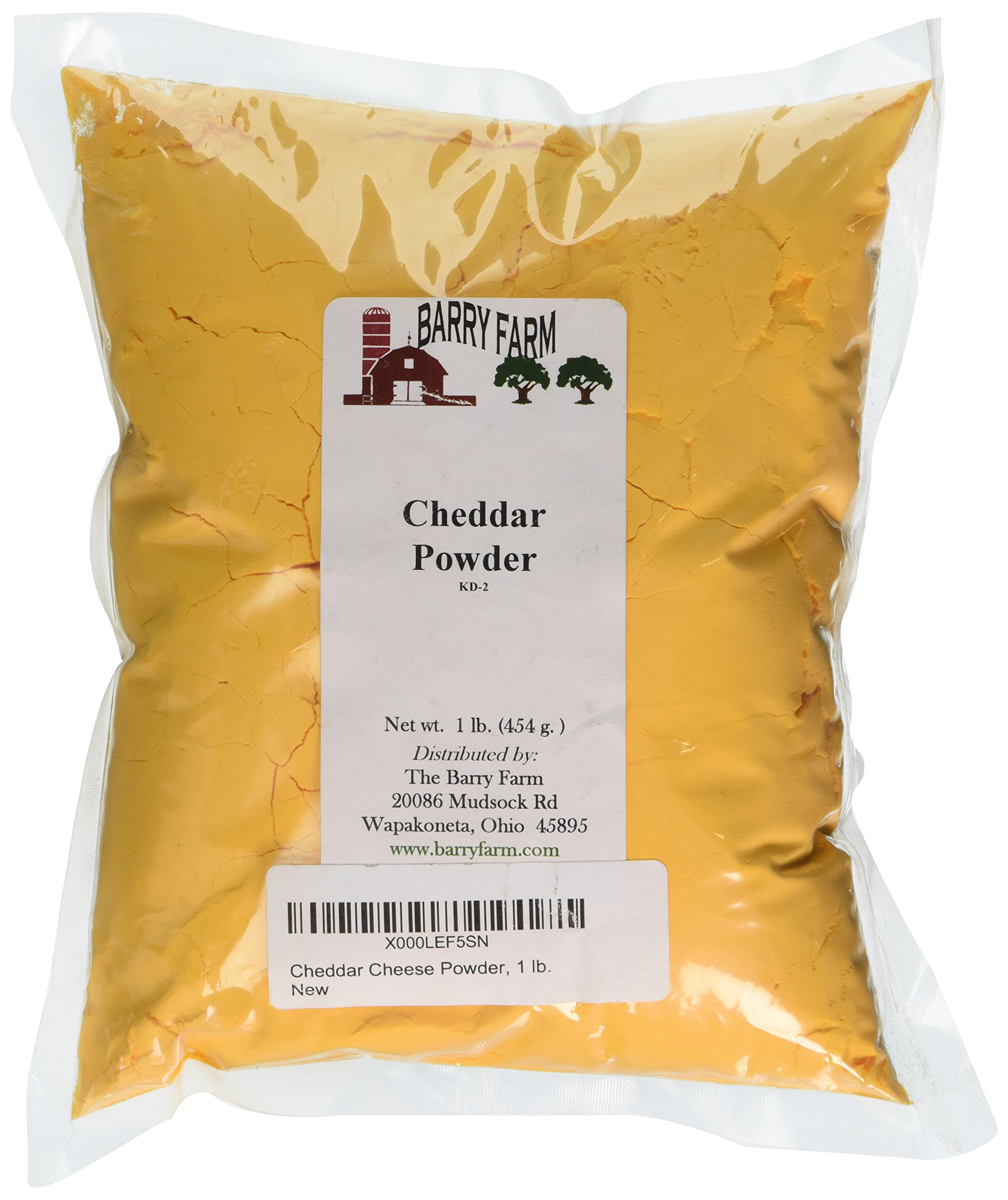 Cheddar Cheese Powder, 1 lb. by Barry Farm by Barry Farm (Image #1)