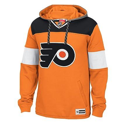 adidas NHL Philadelphia Flyers Men s Face Off Jersey Pullover Hoodie 9d6d4f965