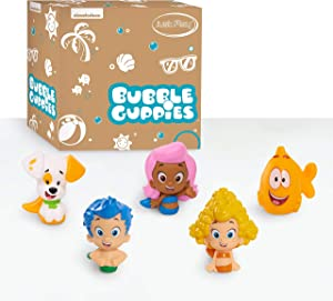 Bubble Guppies 5-Piece Water Squirter Set - Amazon Exclusive