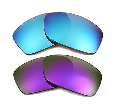 878436aaf7 HIJINX Replacement Lenses Blue   Purple by SEEK fits OAKLEY ...