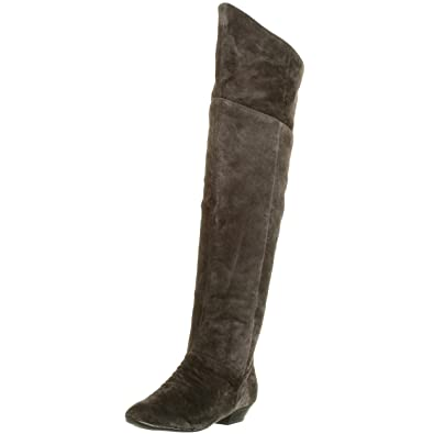 e12e44414429b Amazon.com | Chinese Laundry Women's Strate Over The Knee Flat Boot ...
