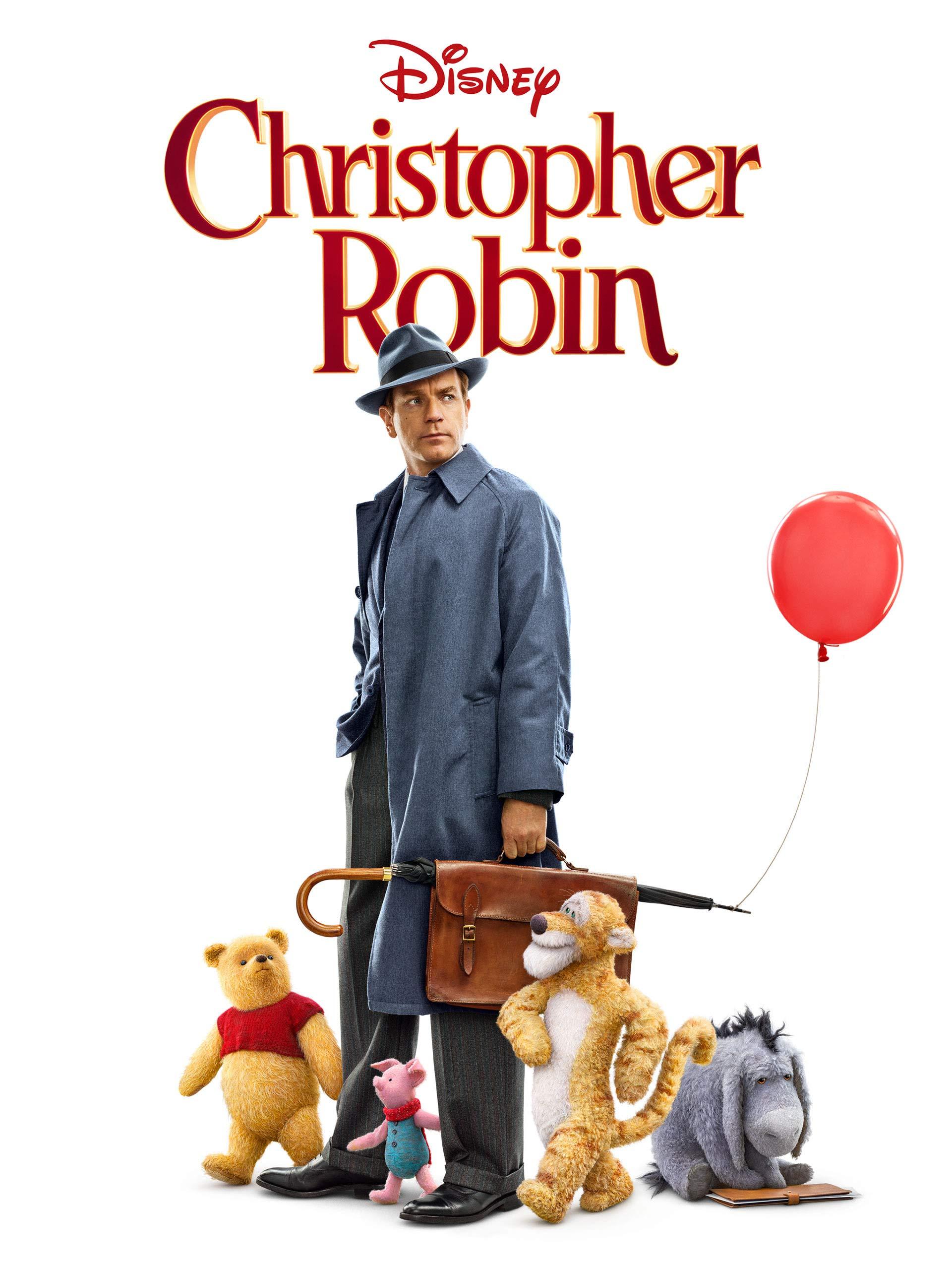 Amazon.com: Christopher Robin: Ewan McGregor, Hayley Atwell, Bronte ...