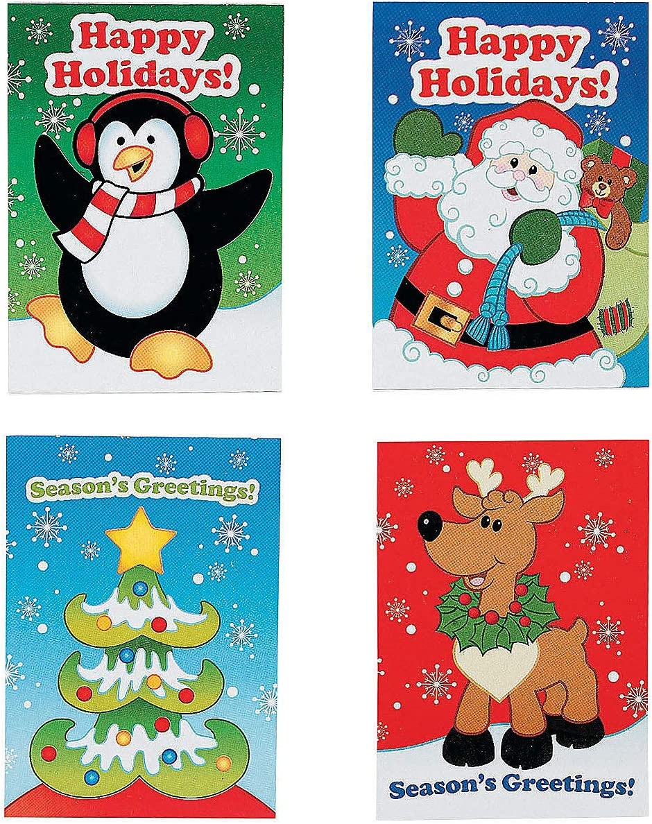 36 MINI HOLIDAY FUN and GAMES Activity BOOKS/Stocking STUFFERS/PARTY FAVORS/TEACHERS/Daycare/2 1/2 x 3 1/2