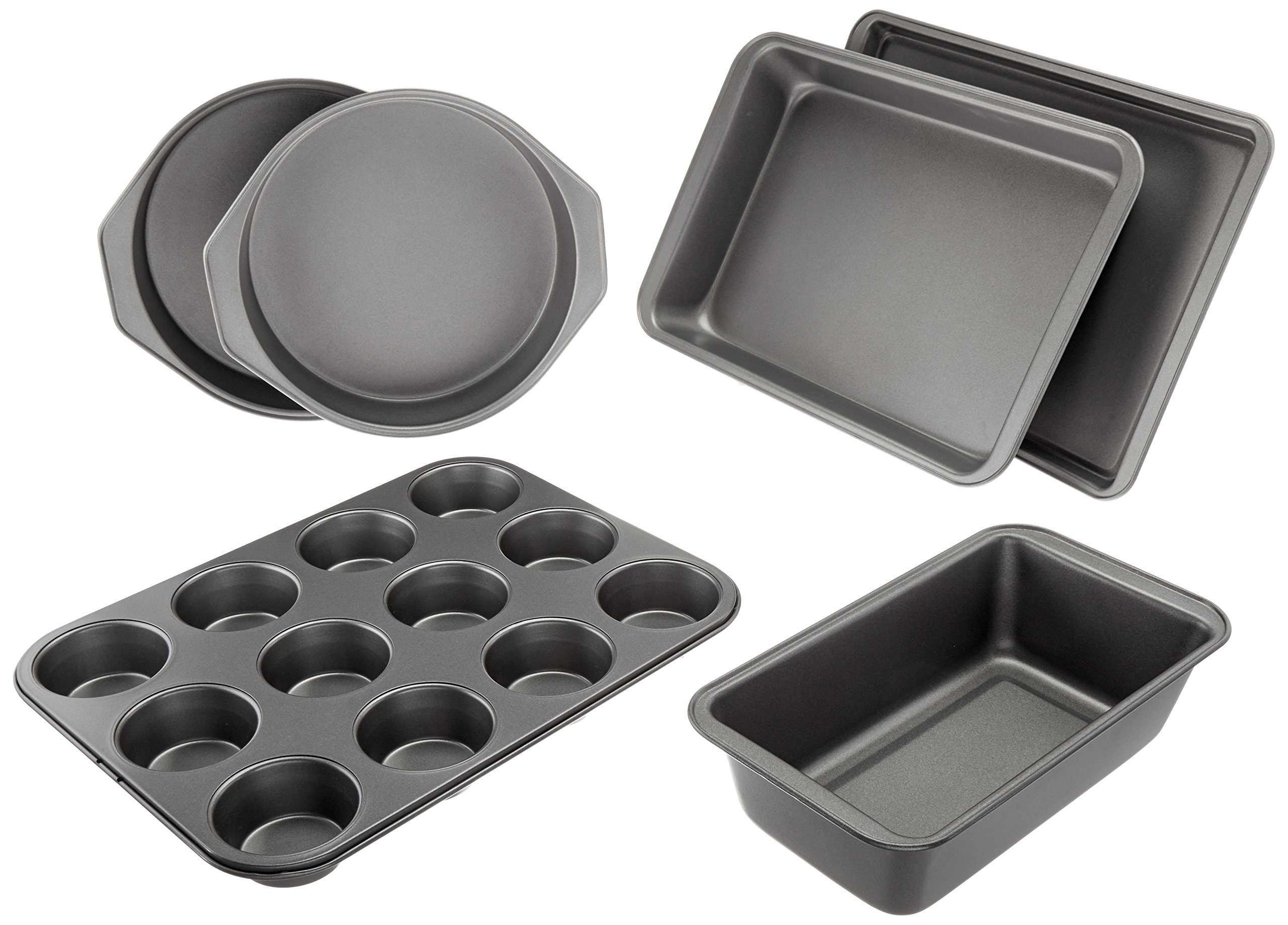 AmazonBasics 6-Piece Nonstick Oven Bakeware Baking Set by AmazonBasics