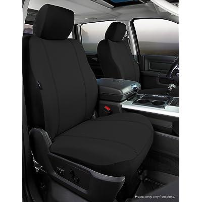 Fia SP87-34 BLACK Custom Fit Front Seat Cover Bucket Seats - Poly-Cotton, (Black): Automotive
