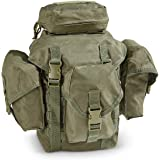 Ultimate Arms Gear Tactical Deluxe OD Olive Drab Green Recon Military Gear MOLLE And ALICE Compatible Butt Pack Buttpack