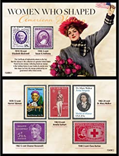 product image for Women Who Shaped American History Postage Stamp Collection