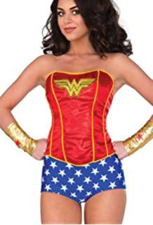 RUBIE/'S UFFICIALE ADULTO/'S DC Wonder Woman Guanti Guanti Gold