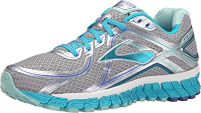Brooks Adrenaline Gts 16 W - Zapatillas de Running Para Mujer, color Multicolor (Silver/Bluebird/Blue Tint), talla 37.5 EU: Amazon.es: Zapatos y complementos