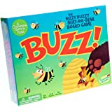Peaceable Kingdom Buzz! Bizzy-Buzzy Beat the Bear Cooperative Game for Kids