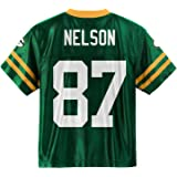 Amazon.com: Jordy Nelson Green Bay Packers Green Youth Player Home ...