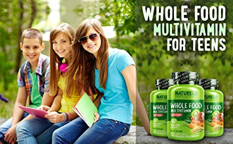Amazon.com: NATURELO - Multivitamina para adolescentes ...