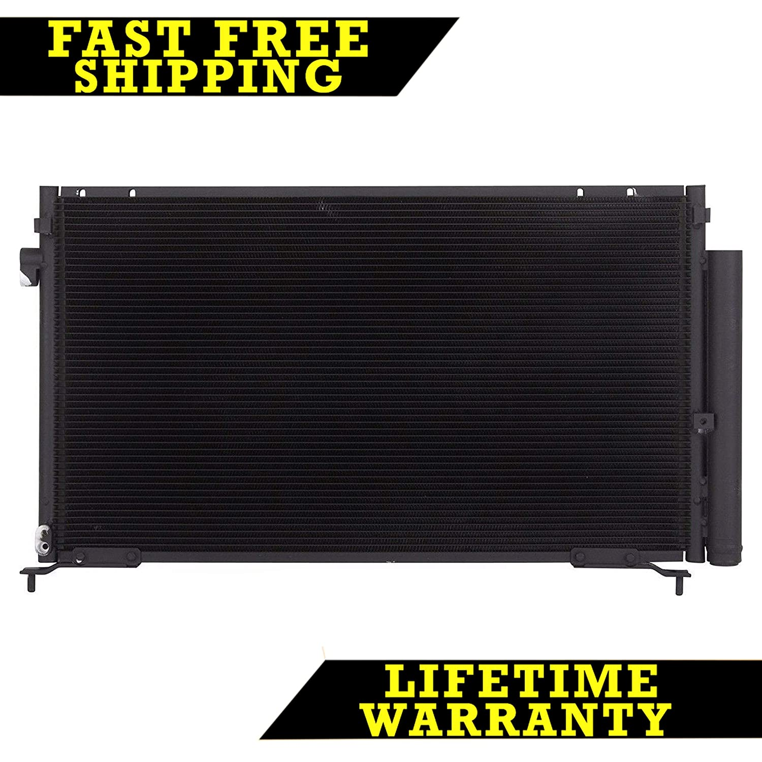 AC A/C CONDENSER FOR HONDA FITS CIVIC 2DR COUPE 1.8 2.0 L4 4CYL 3569 Sunbelt Radiators