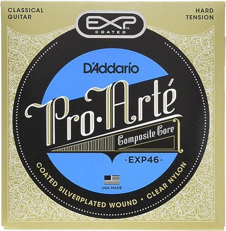 DAddario EXP46 - Juego de cuerdas para guitarra clásica de nylon ...
