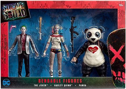 Suicidio Squad Bendable Figura de acción en Caja Set: Amazon.es: Juguetes y juegos